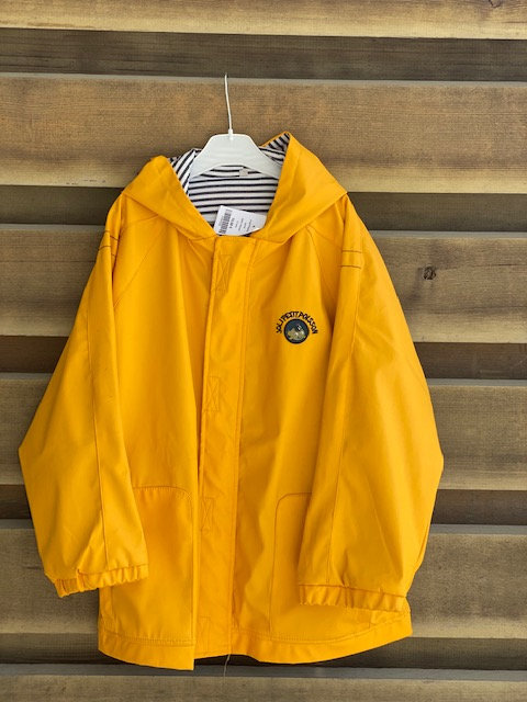 impermeable jaune taille 12 ans