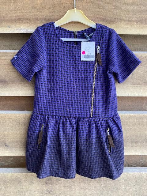 N181/ robe LILI GAUFRETTE