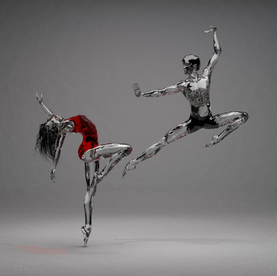 MALE & FEMALE DANCER