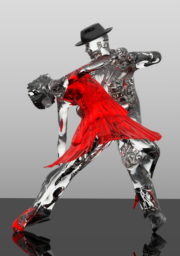 Tango Dancer with Hat