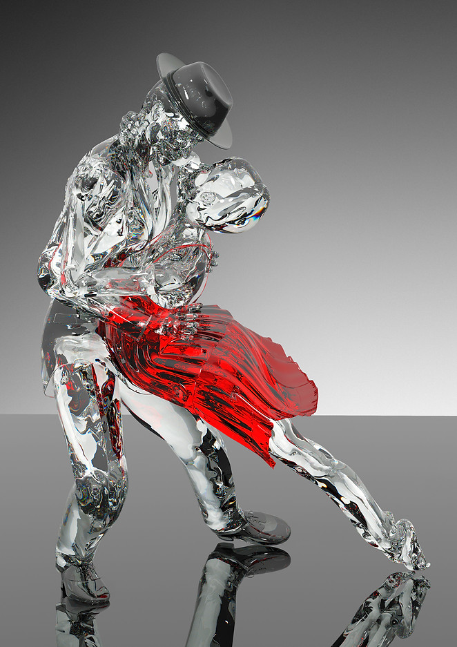 Tango - Passionate Pose