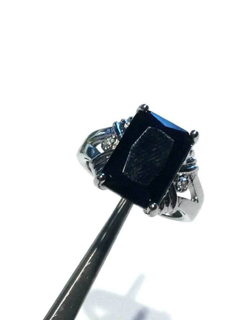 Andara Ring, Black With Authenticity Card, Connect To Hidden Knowledge