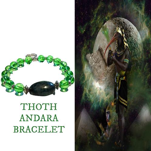 Andara Bracelet. Thoth Andara Crystal Healing Bracelet.   Authenticity Cards