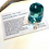 Thumbnail: Arcturian Andara. Arcturian STAR SEED Blue Andara, With Authenticity Card.