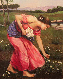 Narcissus Version by Mireya Marsan