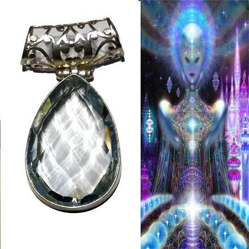 Acturian Andara Pendant Encoded TO Hold Frequencies Of Arcturian High Counsel