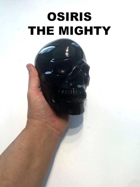 ANDARA Crystal Skull. Osiris Supercharged Black Andara. God of Power/ Might.  3
