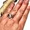 Thumbnail: Herkimer Diamond Ring, Gemstone Ring  Sterling Silver Ring: White Light Energy,