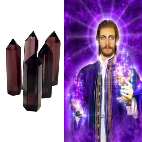 Andara Crystal Wand, Stargate To St. Germain/Violet Flame