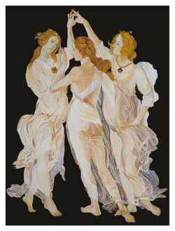 Three Graces After Sandro Botticelli