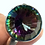 Thumbnail: Mystic Topaz Ring Size 8.5 In Silver Crystal Healing Jewelry, Trusting Your Intu