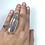Thumbnail: Vera Cruz Mexican Amethyst Adjustable Crystal Statement Ring