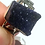 Thumbnail: Azurite Ring: Raw Azurite, Set in Sterling Silver Size 6.5.  Stone Of Heaven...