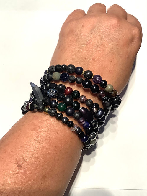 Anubis Wrap Bracelet ON HOLD FOR ROOS