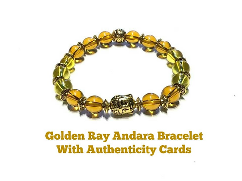 Andara Bracelet Encoded With God Frequency To Golden Ray Of Enlightenment