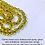Thumbnail: Empath Protection/Clearing Mala Prayer Beads: Citrine, Nuummite Black Onyx