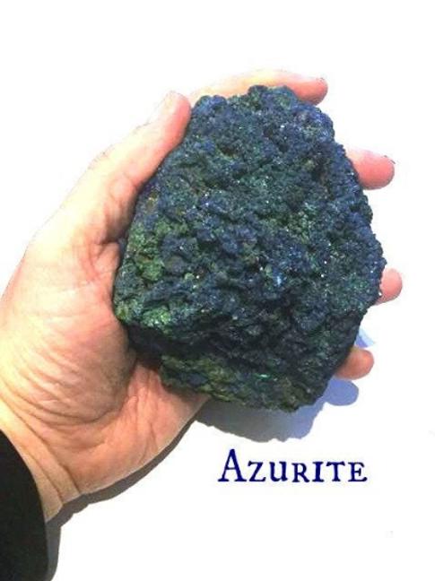 "Azurite  and Malachite Specimen.  ""Stone of Heaven"" . Archangel Michael,"