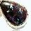 Thumbnail: Labradorite Wire Weaved Pendant: Rare Purple Labradorite.