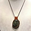 Thumbnail: Labradorite Necklace In Leather To Increase Intuition/Grounding