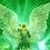 Thumbnail: Archangel Raphael Crystal Healing Bracelet: Prehnite, Angel Wing,