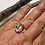Thumbnail: Herkimer Diamond Ring, Gemstone Ring Sterling Silver Ring