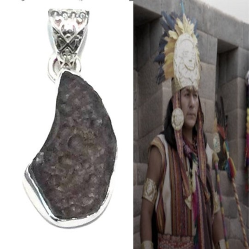 "Columbianite Necklace. Tektite. ""STONE OF LIGHT"" Rarer than Moldavite."
