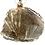 Thumbnail: Rutilated Quartz Necklace.  Large Angel Hair Quartz.  Chain Included