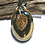 Thumbnail: Druzy Pendant.  Gold Aura Set In Solid Sterling Silver.  Self Care, Spirituality