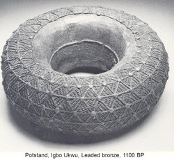 One of Igbo Ukwu Bronze works