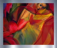 La femme en rouge-Lady in red.