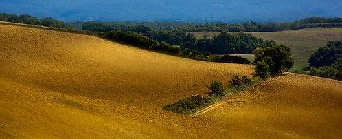 Sur les collines italiennes