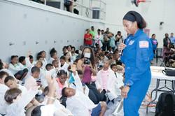 NASA stops by!