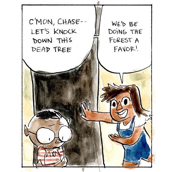 Ashima -- Comic Strip  -- Dead Tree 02 -