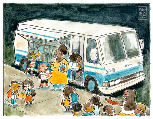 Visit to the Bookmobile