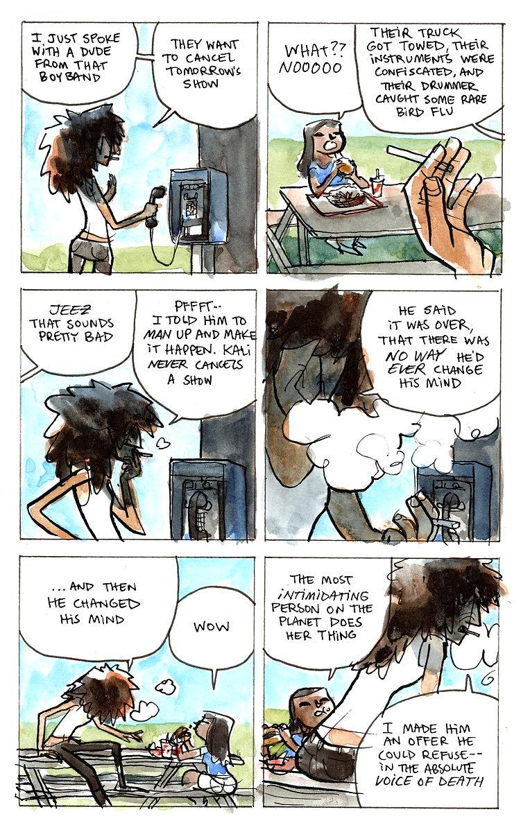 Kwips -- Mixtape 02 -- Comic 06 -- The D