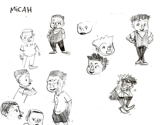 Commission -- Micah Vest -- Character Sk