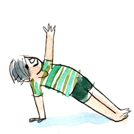 Sketchbook -- WC Human Kids Yoga 01 Side