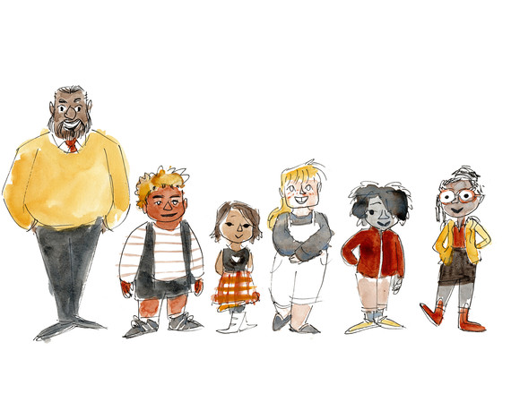 Learning Pod Class -- Character Study --