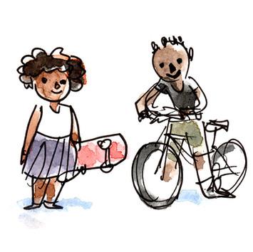 WC -- Sketchbook -- Jojo and Jackie 01.0