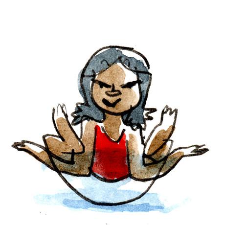 Sketchbook -- WC Human Kids Yoga 01 Flow