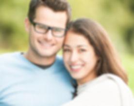 Portrait of beautiful romantic couple. P