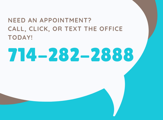 Call or Text to schedule an appointment