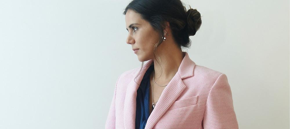 Maggie Marilyn blazer Celeste Tesoriero Sustainability consultant Mineraleir