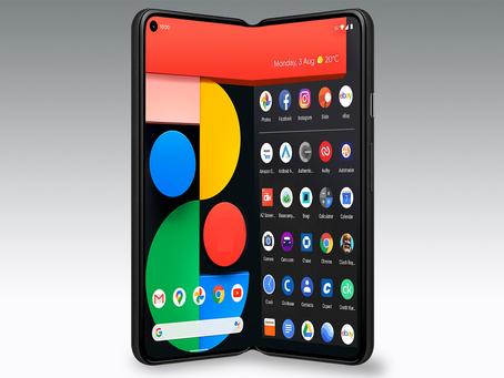 Desarrolla Google su primer celular plegable