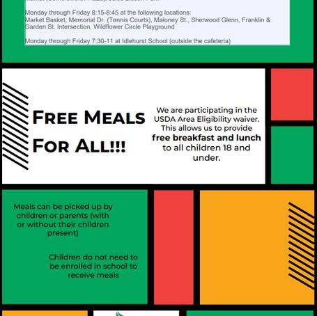 Free Meals Program!