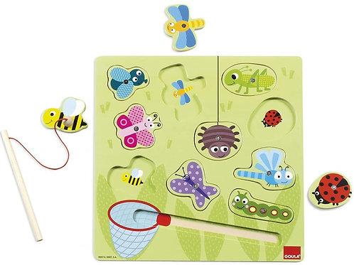 Puzzle magnétique insectes