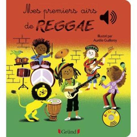 Mes premiers airs de Reggae - livre sonore