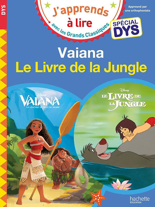 Vaiana - Le livre de la jungle