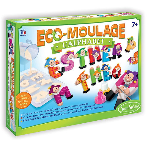 Eco moulage - Alphabet