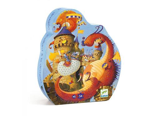 Puzzle Vaillant et le dragon